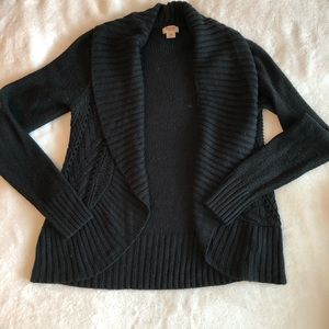 Mossimo Supply Co Medium Black Knit Cardigan